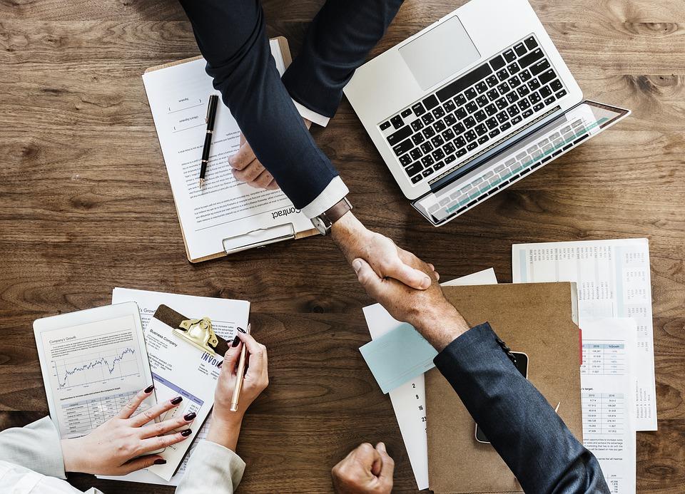 Business Success - Handshake